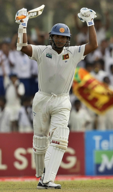 Kumar Sangakkara had little trouble reaching his 22nd Test century