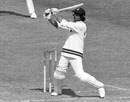 Opener Eknath Solkar pulls the ball, England v India, Lord's, World Cup, June 7, 1975