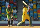 Donwell Hector is bowled, Guyana v Windward Islands, Caribbean T20, 3rd match, July 23, 2010