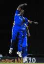 Offspinner Ashley Nurse took two wickets on national debut, Barbados v Combined Colleges and Campuses, Caribbean T20, 4th match, July 23, 2010