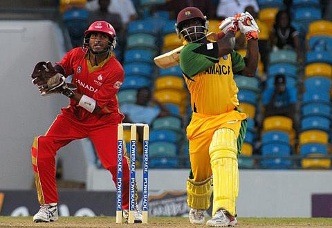 Xavier Marshall scored his second half-century of the tournament