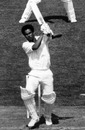 Keith Boyce powers the ball during his quick 34, Australia v West Indies, World Cup final, Lord's, June 21, 1975