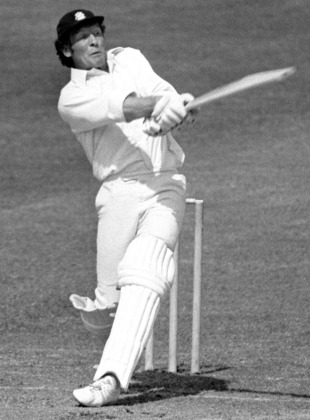 Captain Mike Denness made a 31-ball 37, England v India, World Cup, June 7, 1975