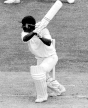 Rohan Kanhai: on his way to a pivotal 55 in the 1975 World Cup final