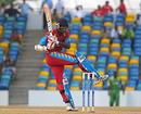 Floyd Reifer pulls during his knock of 49, Combined Campuses and Colleges v Guyana, Caribbean T20, Barbados, July 25, 2010