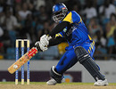 Alcindo Holder goes on the rampage, Barbados v Windward Islands, Caribbean T20, Barbados, July 25, 2010