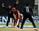 Rob White put together a run-a-ball 26 before he was bowled by Murali Kartik, Somerset v Northamptonshire, Friends Provident t20 quarter final, Taunton, July 27, 2010