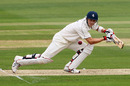 Joe Denly drives through the covers during has patient 40