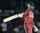 Darren Bravo reaches his 50, Jamaica v Trinidad & Tobago, Caribbean T20, July 28, 2010
