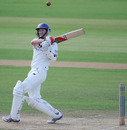 Mark Chilton stood firm and battled through to the close to give Lancashire hope of a draw, Hampshire v Lancashire, County Championship, Division One, Rose Bowl, July 31, 2010