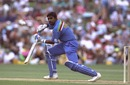 Asanka Gurusinha steers past point, New Zealand v Sri Lanka, World Cup, Hamilton, February 25, 1992