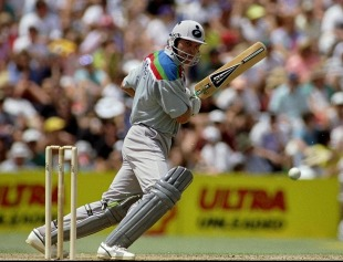 Martin Crowe cracked a century. Australia just cracked