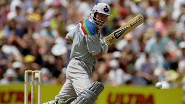 Martin Crowe began the World Cup with a century