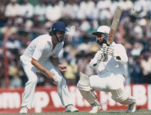 Arjuna Ranatunga hits out, Sri Lanka v England, Only Test, P Sara Oval, 1st day, February 17, 1982