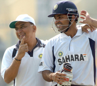 Virender Sehwag and Sunil Gavaskar: an opening pair that would have any bowler quaking in his boots