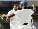 Suraj Randiv took three top-order wickets to set India back