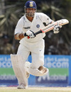 Sachin Tendulkar guided India to a strong position at lunch