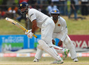 VVS Laxman turns one away with his wrists