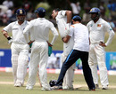 VVS Laxman was troubled by back spasms throughout his innings