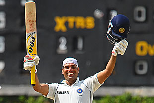 VVS Laxman scored a sublime century to help India draw the three-Test series 1-1 on the fifth day at the P Sara Oval