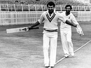 Sunil Gavaskar and Gundappa Viswanath walk the tightrope