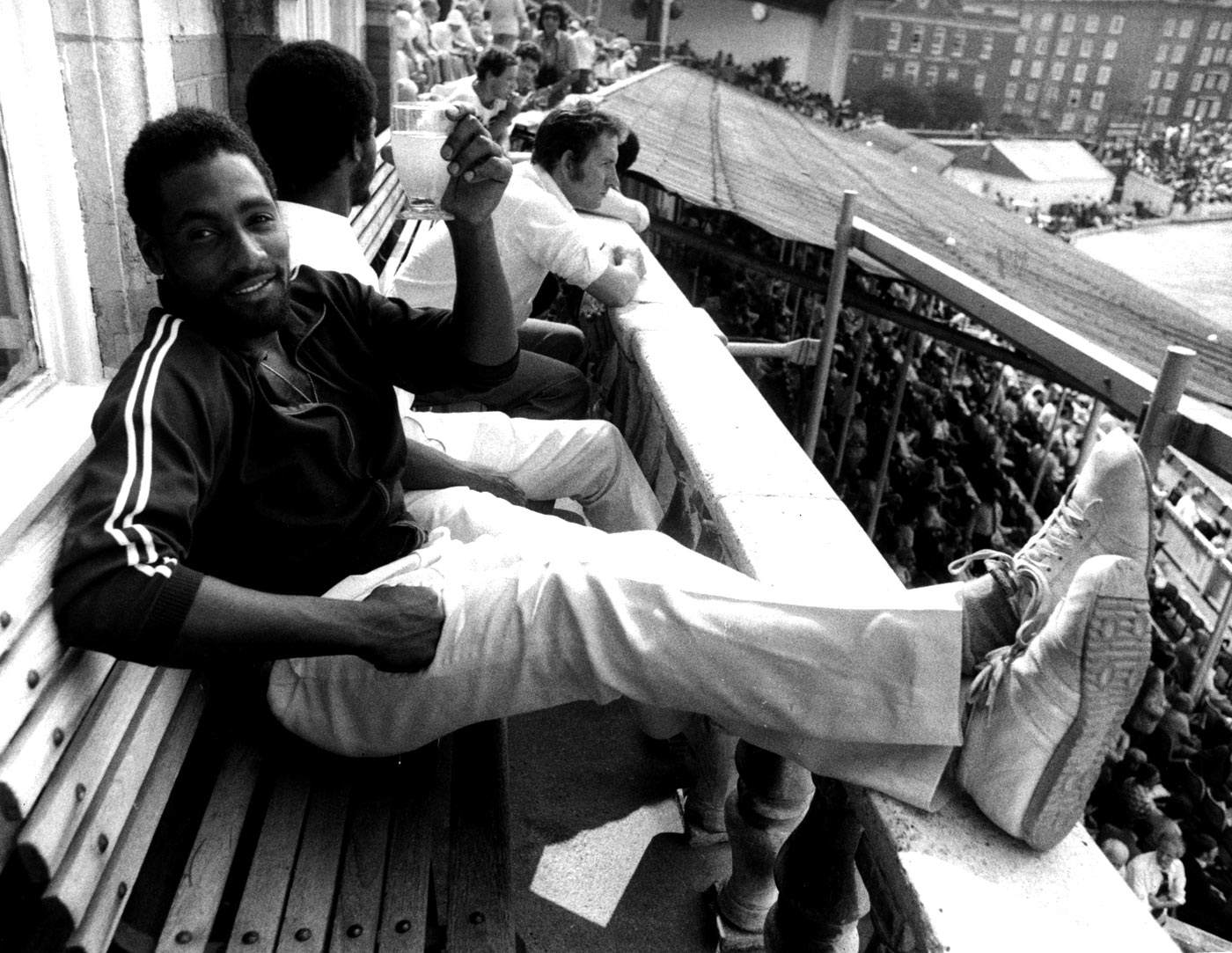 The toast of the town: Viv Richards was the No. 1 choice for 58% of the jury