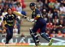 Neil McKenzie clips one off the pads, Hampshire v Essex, 1st semi-final, Friends Provident t20, Rose Bowl, August 14, 2010