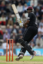 Kieron Pollard made 22 from 18 deliveries to support Jos Buttler's big hitting