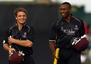 Jos Buttler and Kieron Pollard put on an unbeaten 75 for the sixth wicket