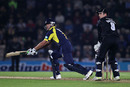 Sean Ervine held Hampshire's chase together with an unbeaten 44