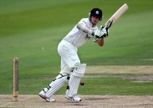 Steven Davies made 68 against his former county
