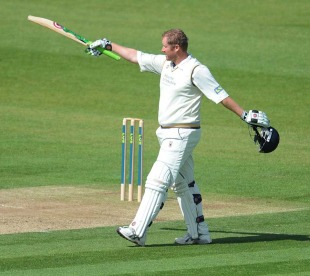 Anthony McGrath scored a brilliant hundred to give Yorkshire the lead against Durham, Durham v Yorkshire, County Championship, Division One, Chester-le-Street, August 17, 2010
