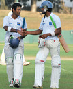 Dimuth Karunaratne and Dinesh Chandimal credit each other