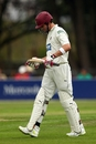 Craig Kieswetter managed just 10 before he was bowled by Chris Wright