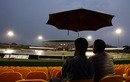 Persistent rains ensured the covers stayed on into the evening, Sri Lanka v New Zealand, tri-series, 4th ODI, Dambulla, August 19, 2010