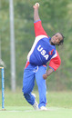 Adrian Gordon took four wickets, Italy v USA, ICC WCL Div. 4 final, Pianoro, August 21, 2010