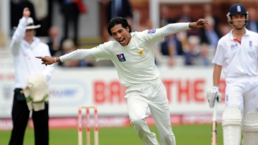 Mohammad Amir ripped through England's middle order on the second morning at Lord's