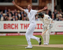 Stuart Broad's incredible match got even better when he claimed the crucial wicket of Mohammad Yousuf