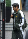Salman Butt was at the centre of controversy as he arrived at Lord's for the fourth day