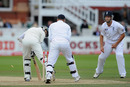 Azhar Ali was bowled by a beauty from Graeme Swann
