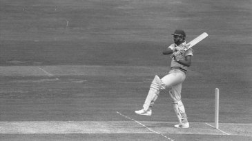 Mohinder Amarnath plays a pull shot during the final