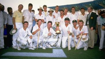 Australian team after winning the World Cup
