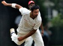 Umar Bhatti in action, Canada v Ireland, ICC Intercontinental Cup, Toronto, 1st day, August 31, 2010