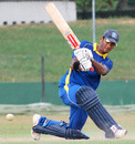 Dimuth Karunaratne scored his maiden one-day hundred