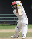 Ashish Bagai drives during his fighting innings