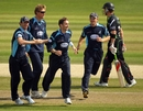 James Kirtley took three wickets to help set up a thrilling tie in his final game for Sussex, Sussex v Surrey, Clydesdale Bank 40, Hove, September 4 2010