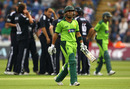 Kamran Akmal's miserable tour continued when he was dismissed by Tim Bresnan for 6