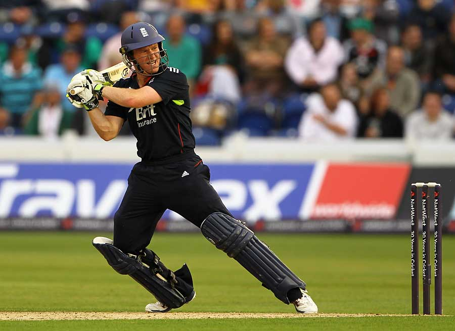 Eoin Morgan guided England home with another calm innings