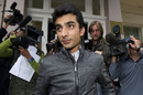 Yasir Hameed leaves the Pakistan High Commission in London, London, September 5, 2010