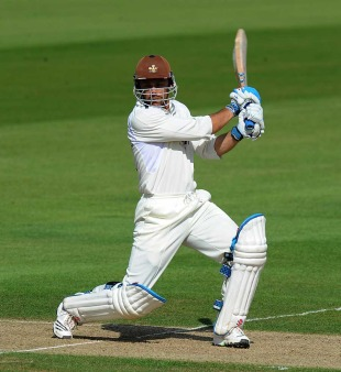 Mark Ramprakash made 40 before falling to Dean Cosker, Surrey v Glamorgan, County Championship, Division Two, The Oval, September 7, 2010